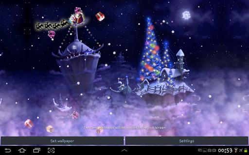 圣诞节雪幻想