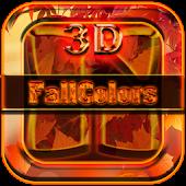 Next Launcher Theme Fallcolors