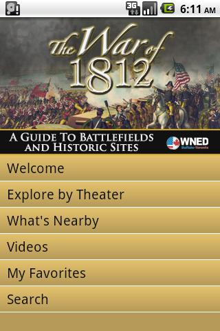 The War of 1812: Guide to Hist - screenshot