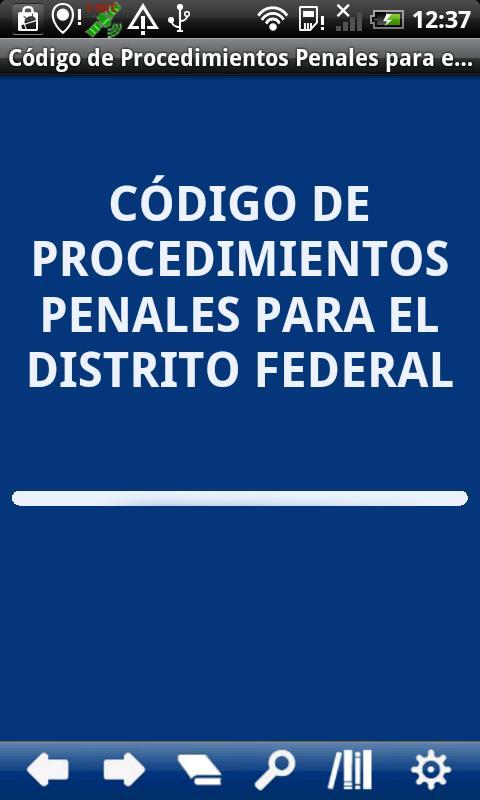 Penal P. Code Distrito Federal- screenshot