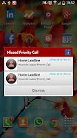 Screenshot of Priority Call