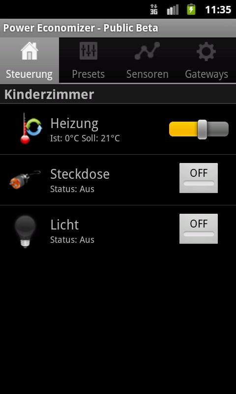 Peco Smart Home Mobile - screenshot