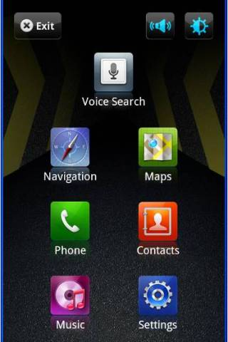 Car Home Samsung Vibrant 2 - screenshot
