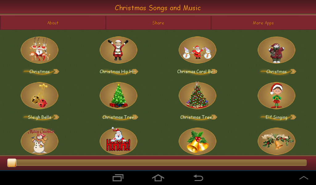 Christmas Songs and Music - screenshot