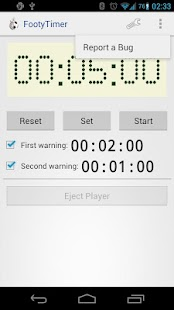 Footy Timer - screenshot thumbnail