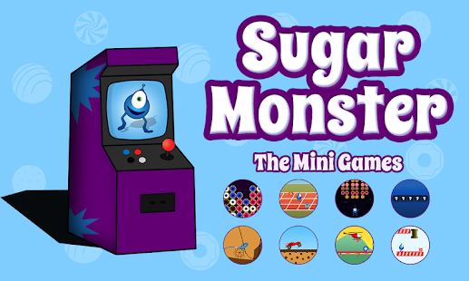 Sugar Monster - The Mini Games- screenshot thumbnail