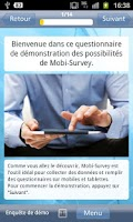 Screenshot of Mobi-Survey