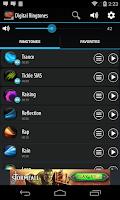 Screenshot of Digital Ringtones