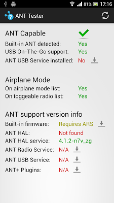 ANT Tester - screenshot