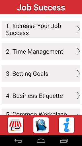 Job Success Tips