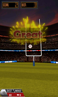 3D Flick Field Goal - screenshot thumbnail