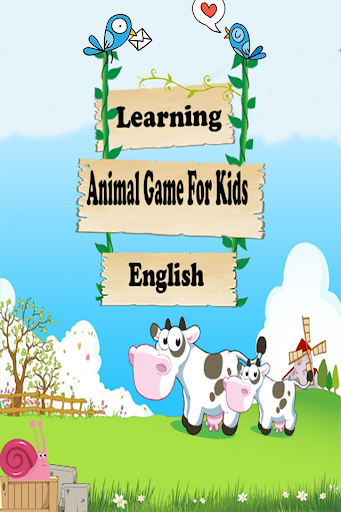 Learning Animal Game For Kids