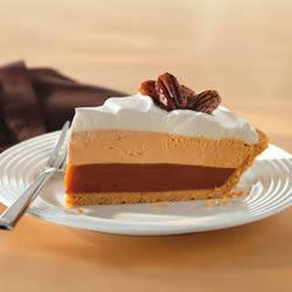 Triple-Layer Pumpkin Spice Pie.