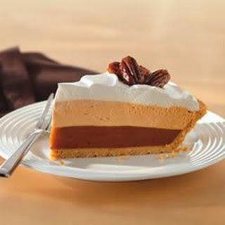 Triple-Layer Pumpkin Spice Pie.
