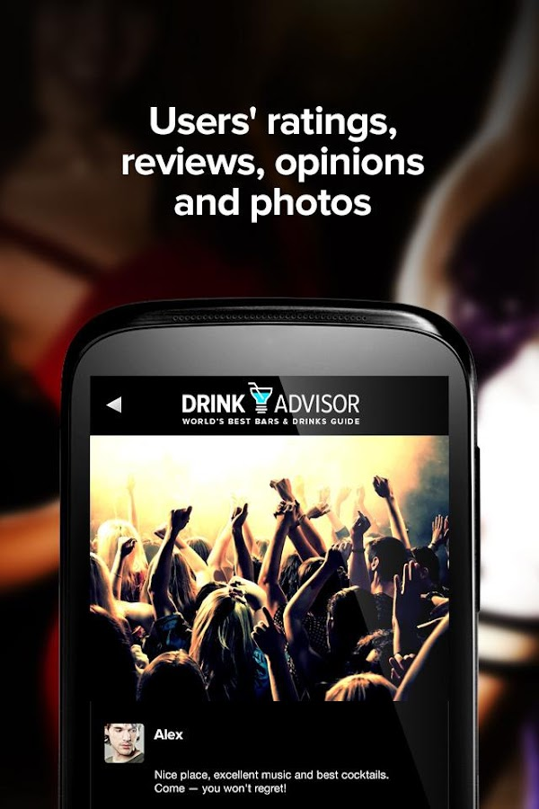 DrinkAdvisor Bars & Nightclubs - screenshot