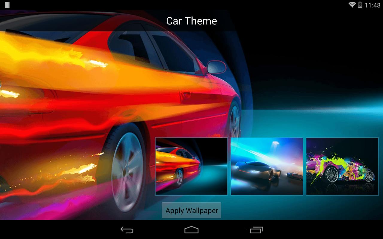 Gmail themes apply - Car Theme Screenshot