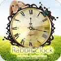 Rabbit Clock widget logo