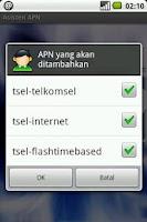 Screenshot of Asisten APN (beta)