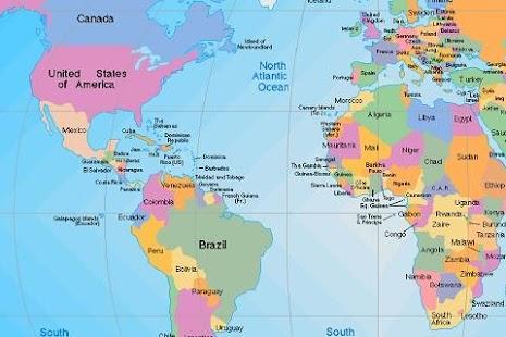 World map aplicaciones android en google play world map miniatura de captura de pantalla gumiabroncs Gallery