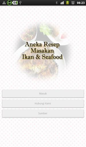 Resep Masakan Ikan Seafood