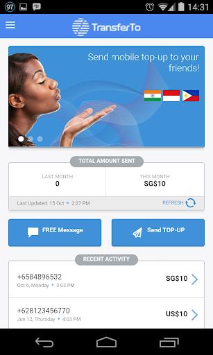 TransferTo mobile topup