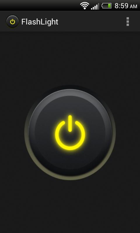 Flash Light for smartphone - screenshot