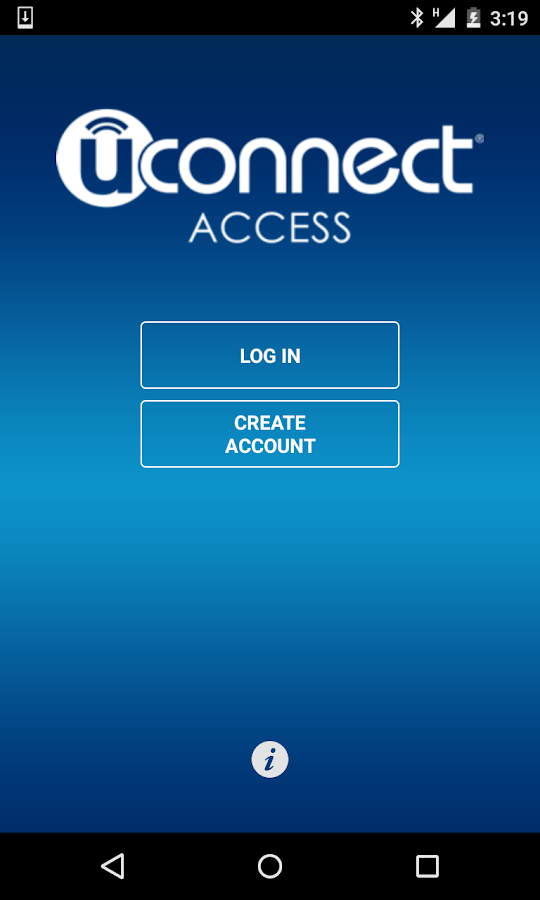 Uconnect® Access - screenshot