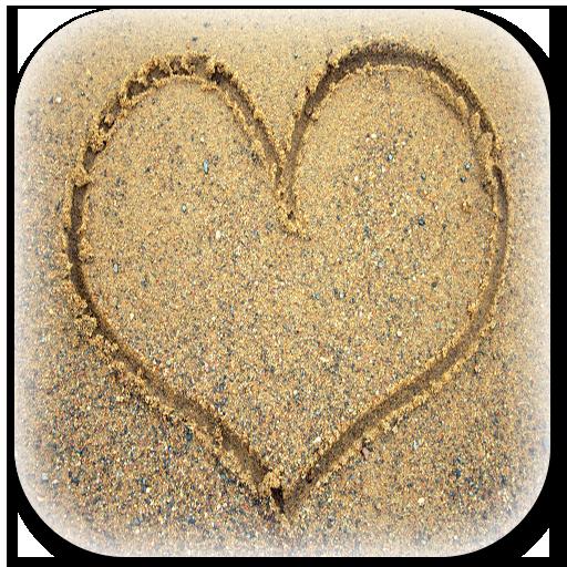 畫在沙灘上 個人化 App LOGO-APP試玩