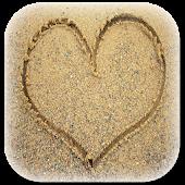 Draw on sand