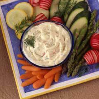 Dijonnaise Vegetable Dip.