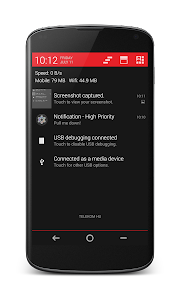 Planar PA/CM11 Theme Red v1.0