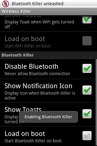 Wireless Killer - screenshot