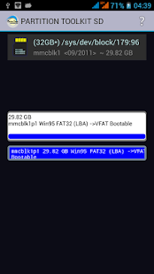 ROEHSOFT PARTITION TOOL SD-USB Screenshot