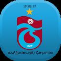 Trabzonspor Digital Saat icon