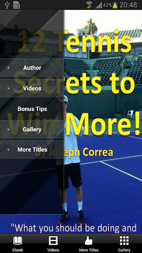 12 Tennis Secrets