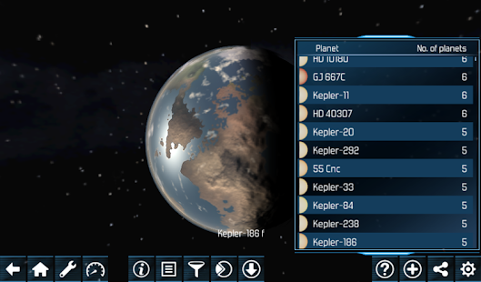 Exo planets Explorer 3D HD- screenshot thumbnail