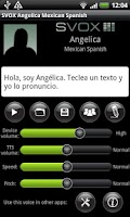 Screenshot of SVOX Mexican Angelica Trial