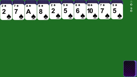 iSpider - spider solitaire - screenshot thumbnail