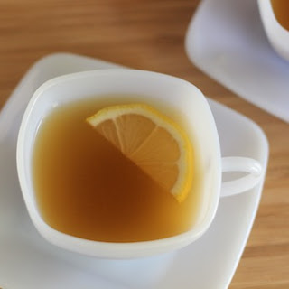 Tea Hot Toddy Recipe with Bourbon.