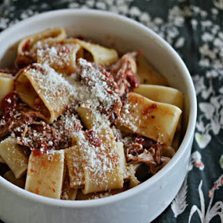 Slow-Cooker Pork Shoulder Pasta