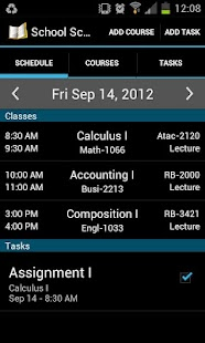 School Scheduler- screenshot thumbnail