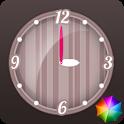 Stripes Clock Widget icon