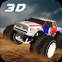 4x4 Desert Safari Stunt Truck icon