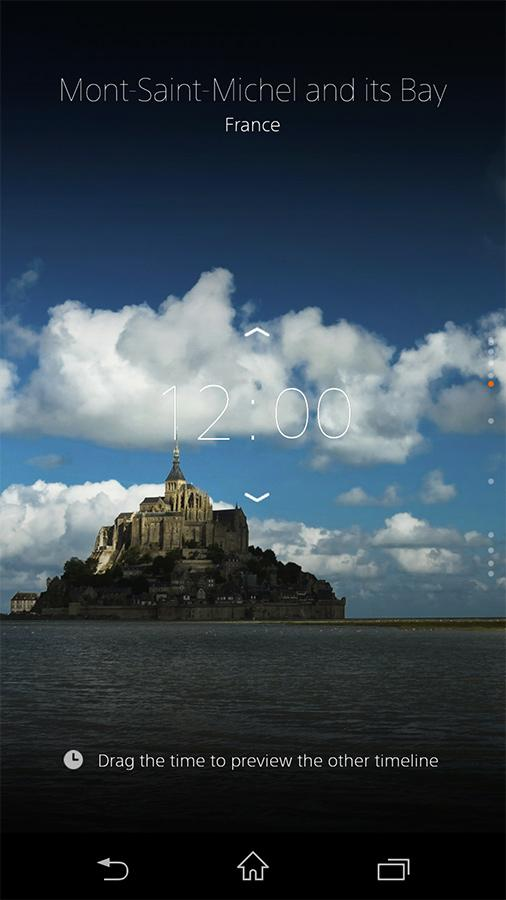 """α"" CLOCK for Mobile - screenshot"