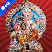 Ganesh chaturthi greeting card