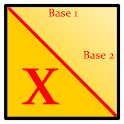 Diagonal of the Square icon
