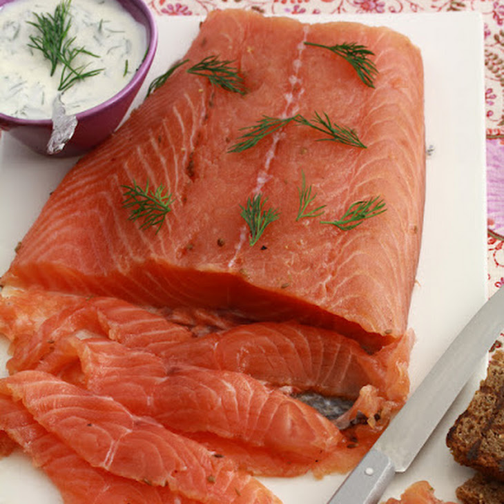 Marinated Salmon with Spices and Vodka Recipe
