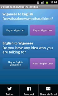 iWiganese - Wigan to English - screenshot thumbnail