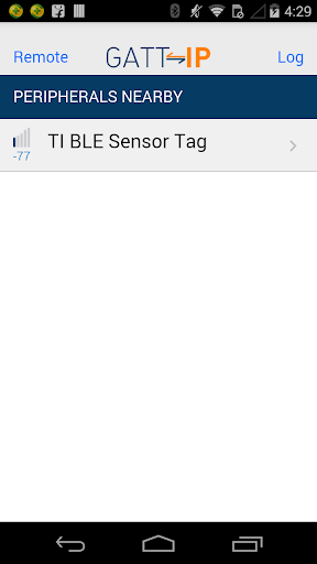 GATT-IP - Bluetooth LE Proxy