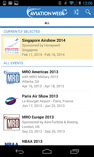 Aviation Week Events